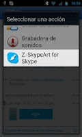 Screenshot of Z-Art for Skype
