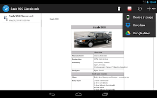 Screenshot of OOReader
