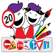 APK App road signs coloring pages free for BB, BlackBerry
