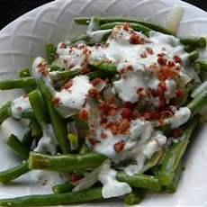 Blue Cheese Green Beans