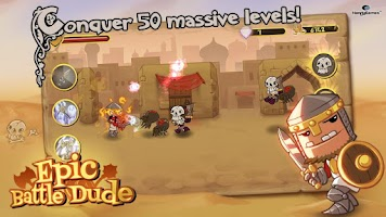 Screenshot of Epic Battle Dude