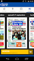 Screenshot of Charente Libre