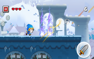 Screenshot of Brave Run 2: Frozen World