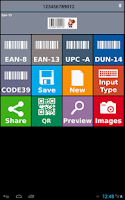 Screenshot of Barcode Creator