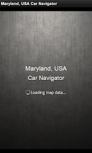 GPS Navigation Maryland, USA - screenshot