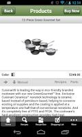 Screenshot of Cuisinart KitchenSync