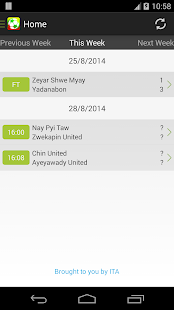 Myanmar Livescore - screenshot