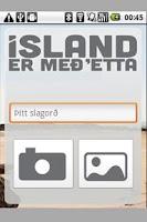 Screenshot of Ísland er með'etta