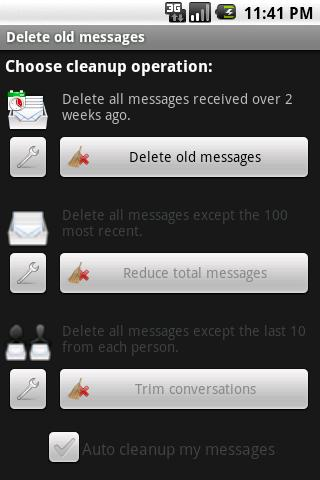Delete old messages