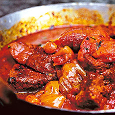 A tagine of lamb with apricots recipe by Nigel Slater