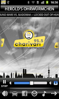 Screenshot of 95.5 Charivari München