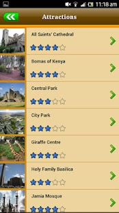 Nairobi Offline Travel Guide - screenshot