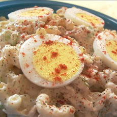 Grandma Grace's Macaroni Salad With Tuna
