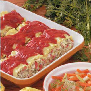 Crab Lasagna Roll Recipes