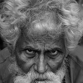 Old & Wise by Rakesh Syal - People Portraits of Men (  )