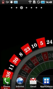 Roulette Livewallpaper - screenshot
