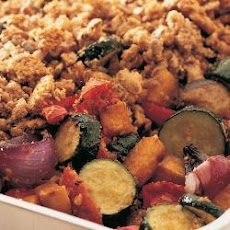Roasted Vegetable Crumble