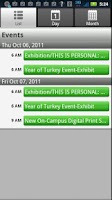 Screenshot of Queens College Mobile