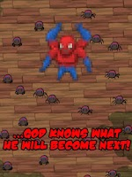 Screenshot of Confusing Spider Human