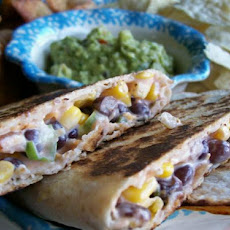 Corn and Black Bean Quesadillas