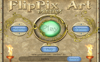 Screenshot of FlipPix Art - Museum