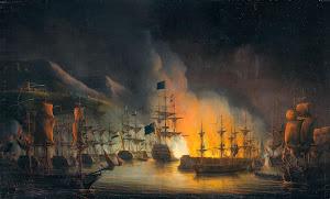 RIJKS: Martinus Schouman, Ministerie van Marine: painting 1823