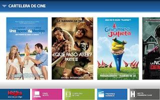Screenshot of Cines Hoyts