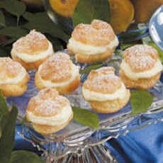 Lemon Cream Puffs