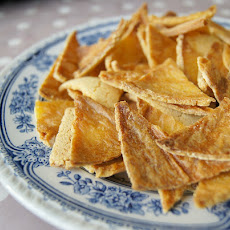 Oil-Free Baked Corn Chips