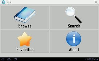 Screenshot of ICD 10 Professional