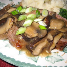 Broiled Flank Steak With Mushroom Sauce