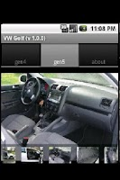 Screenshot of Volkswagen Golf
