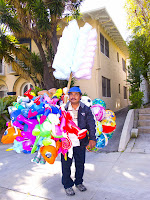 the balloon man from la