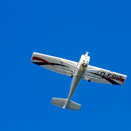 Over my head !!! by Kishu Sing - Transportation Airplanes