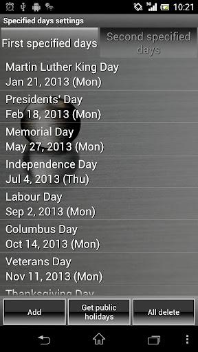 Smart Alarm (Alarm Clock) - screenshot
