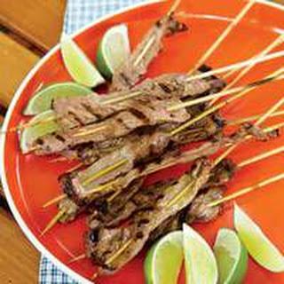 Beef Satay Coconut Recipes