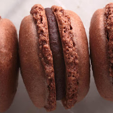 French Chocolate Macarons with Chocolate Ganache