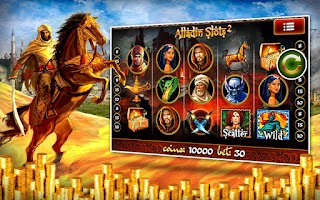 Screenshot of Aladdin 2 Slot Machines Pokies