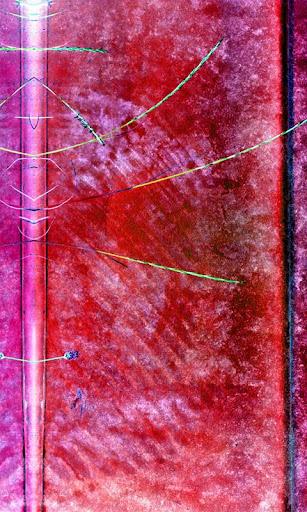 Grass Plastic Rainbow Frieze L