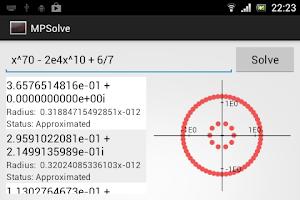 Screenshot of MPSolve