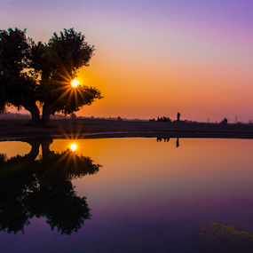 by Umair Khan - Landscapes Sunsets & Sunrises ( , silhouette )