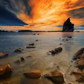 Tanjung Layar by Aditya Permana - Landscapes Beaches ( HDR, Landscapes, , landscape, beach )