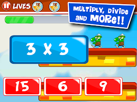 Screenshot of Math learning games for kids
