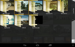 Screenshot of SlideShow Application