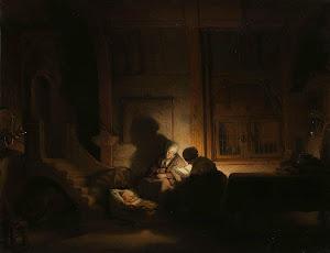 RIJKS: workshop of Rembrandt Harmensz. van Rijn: painting 1648