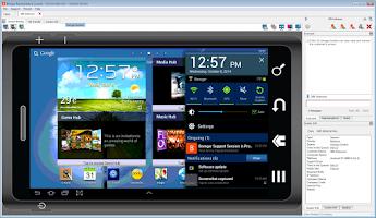 Screenshot of Bomgar for Samsung