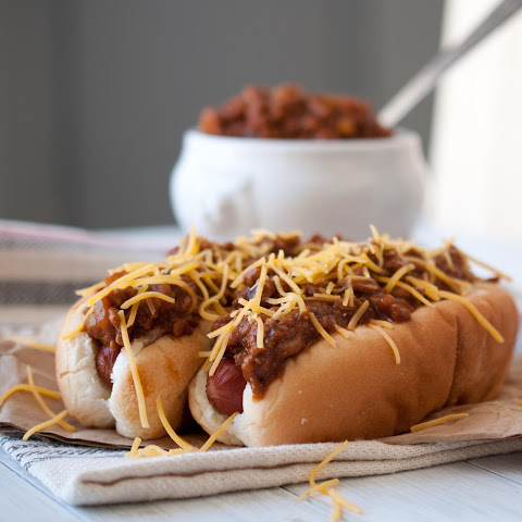 Beer Chili & Cheese Dogs