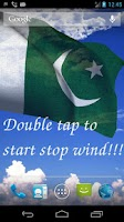 Screenshot of 3D Pakistan Flag LWP