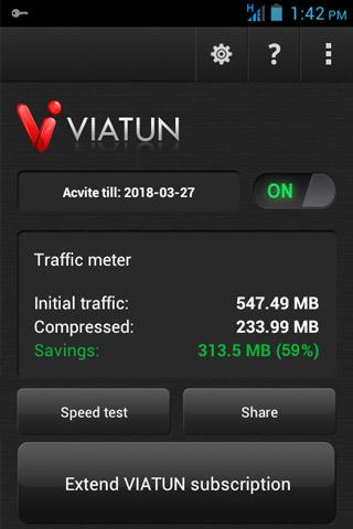 viatun for android screenshot