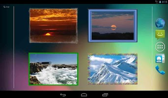 Screenshot of Android Photo Widget